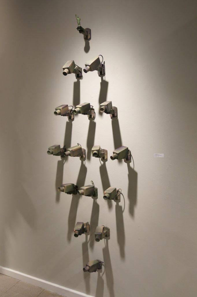 Camo-Cams 4, Dougherty Art Center, Austin, Texas   2014