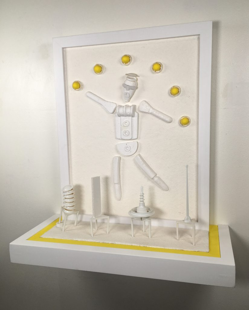 Pulp Fiction/The Juggler with Small Sculptures   2014-19