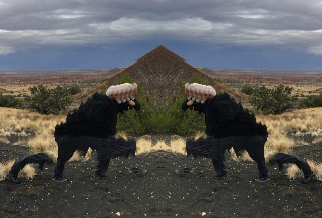 Ritual Preceding Entrance Into Desert Pyramid  2019