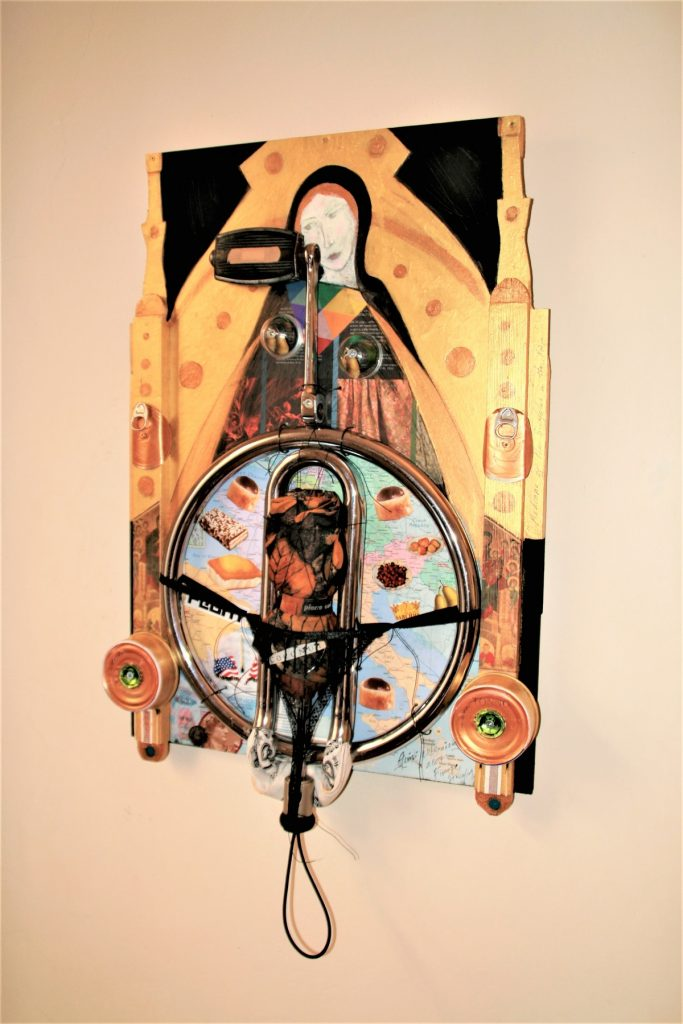 Madonna of the Bicycles in the Rain